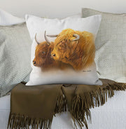 """Laird and His Lady""  Cushion"