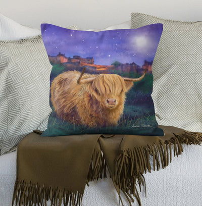 """Magical Edinburgh"" Scatter Cushion"