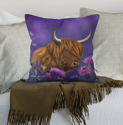 """Thistledown"" Scatter Cushion"