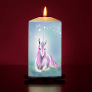 'Aurora' Large Pillar Candle