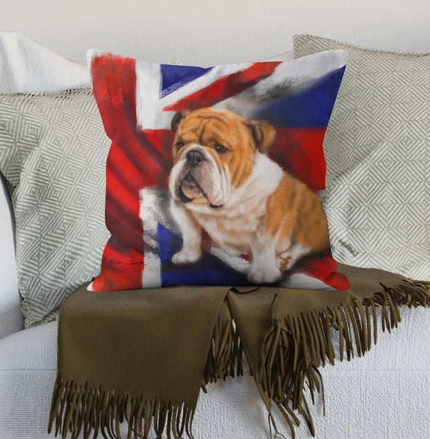 Best of British cushion