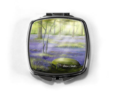 """Bluebells"" Compact Mirror"