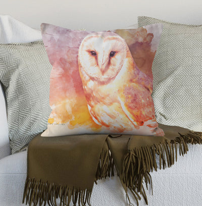 """Ghost Whisper"" Spring Cushion"