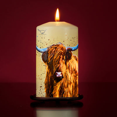 'Coll' Large Pillar Candle
