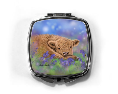 """Bluebell"" Compact Mirror"