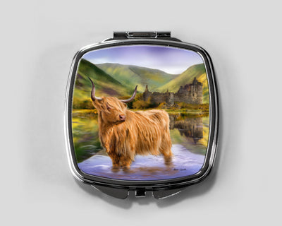 The Guardian of Loch Awe Compact Mirror