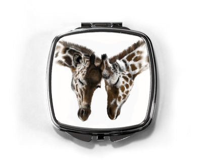 Entwined Compact Mirror