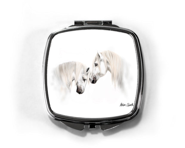 Soul Mates Compact Mirror