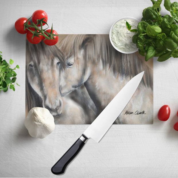 Nuzzletime Glass Chopping Board