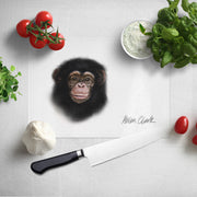 Little Chimp Glass Chopping Board