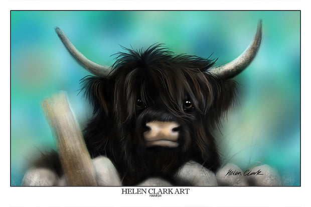 """Hamish"" Art Prints"