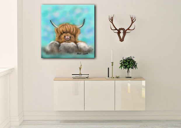 """Haggis"" SUPER SIZE Canvas"