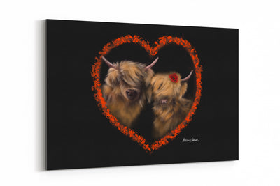 """Heelan Love"" - A4 Standard Canvas Print"