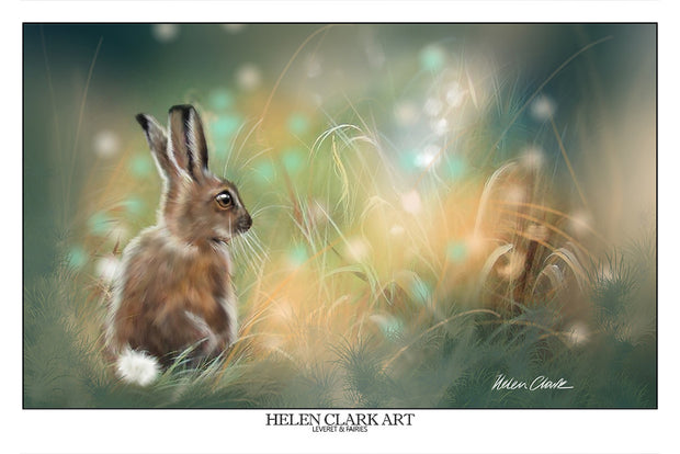 """Leveret and the Fairies"" Art Prints"