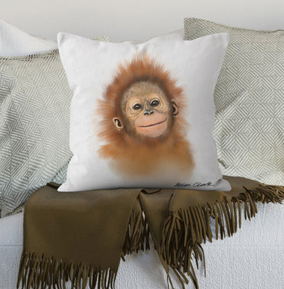 Little Orangutan Scatter Cushion