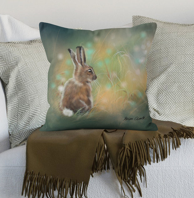 Leveret and the Fairies cushion