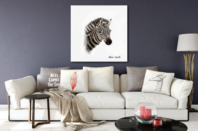 """Little Zebra"" SUPER SIZE Canvas"
