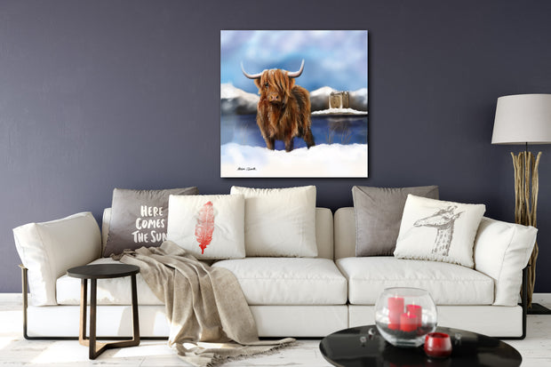 """Lochie"" SUPER SIZE Canvas"