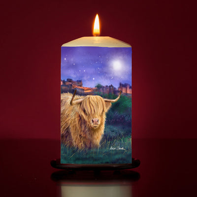 Magical Edinburgh Large Pillar Candle