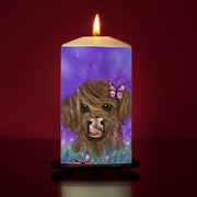 Marmalade spring Large Pillar Candle