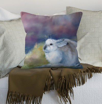 Mountain Hare  Scatter Cushion