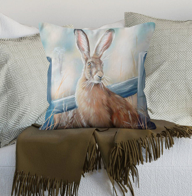 Mystical Hare Scatter Cushion