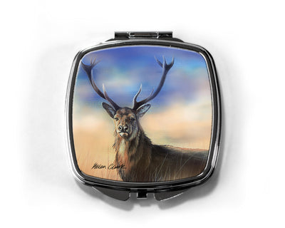 """Monarch of the Peaks"" Compact Mirror"