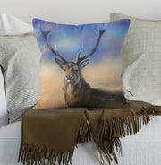 Monarch of the Peaks cushions