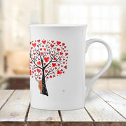 "Muddy Wellies ""Secret Love"" Porcelain Cup"