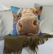 Nosy Parker Cow Scatter Cushion