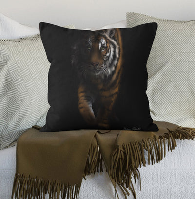 Out Of The Shadows Tiger Scatter Cushion