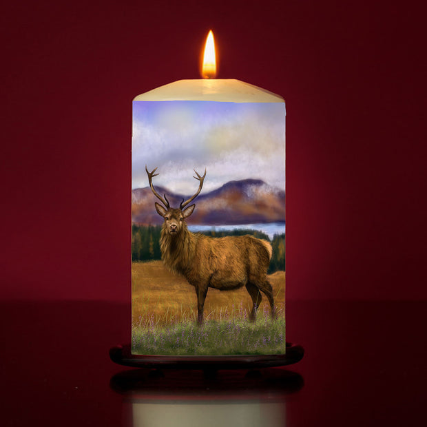 Prince of the Highlands Large Pillar Candle