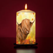 Autumn Gold Large Pillar Candle