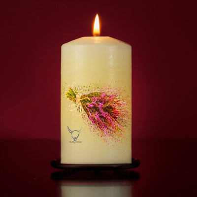 Symbol Of Scotland Large Pillar Candle