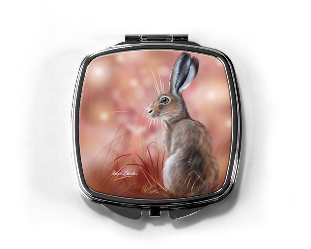 """Red Sky in the Morning"" Compact Mirror"