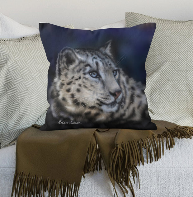 Snow Leopard Scatter Cushion