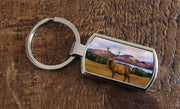 """Prince of the Highlands "" (Oblong keyring)"