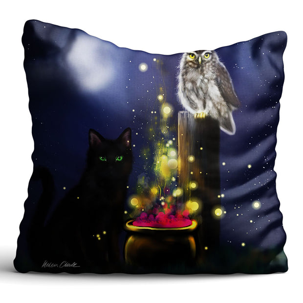 """Sparkling Cauldron"" Cushion"