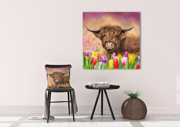 """Tulip"" SUPER SIZE Canvas"