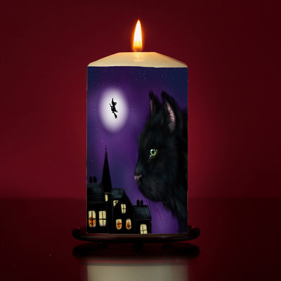 Trick or Treat Large Pillar Candle