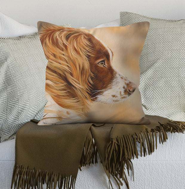 Wind in Her Hair Scatter Cushion