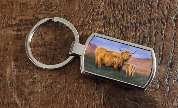 A Mothers Love (Oblong keyring)