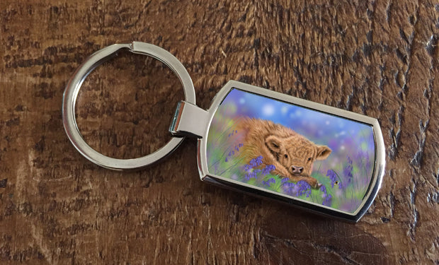Bluebell (Oblong keyring)