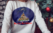 """Helen Clark Herd Christmas Tree"" Jumper"