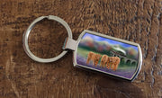 Enchanted Express  (Oblong keyring)