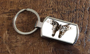 Entwined  (Oblong keyring)
