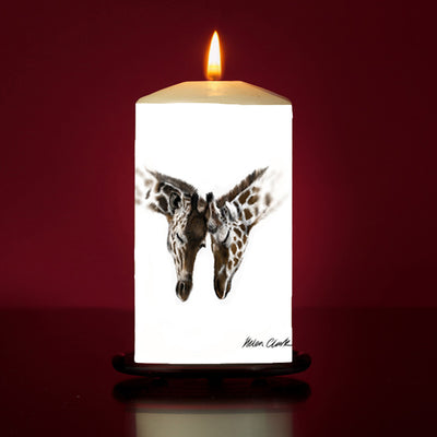 Entwined Large Pillar Candle