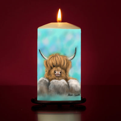 Haggis Large Pillar Candle