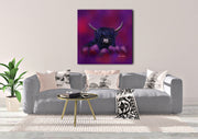 """Hamish in Blue"" SUPER SIZE Canvas"