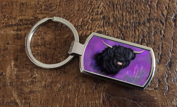 Heather (Oblong keyring)